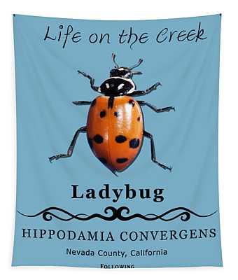 Convergens Ladybug Tapestry