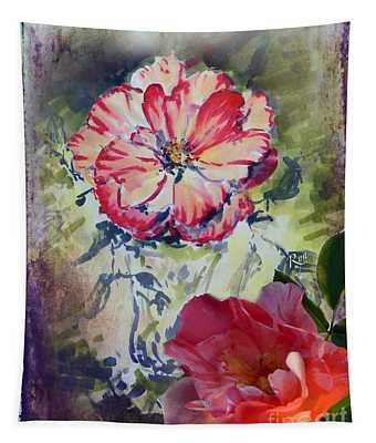 Copic Marker Rose Tapestry