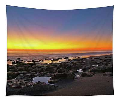 Coral Cove Nautical Twilight Tapestry