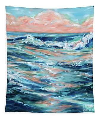 Coral Reflections Tapestry