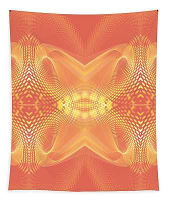 Coral Trance Tapestry