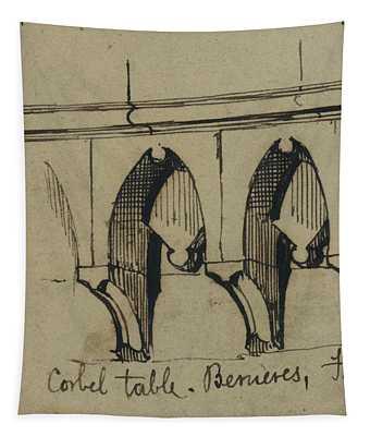 Corbel Table - Benieves, France Tapestry