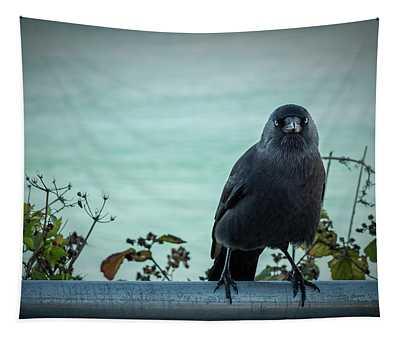 Cornish Crow Tapestry