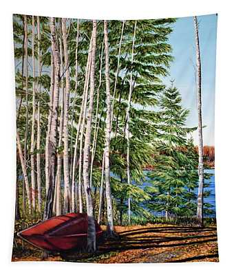 Cottage Country Tapestry
