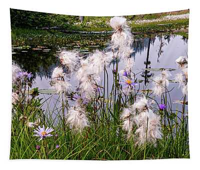 Cotton Grass Tapestry