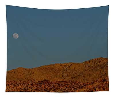 Cottonwood Campground Moonrise Tapestry