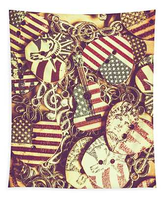 Country Love Tapestry