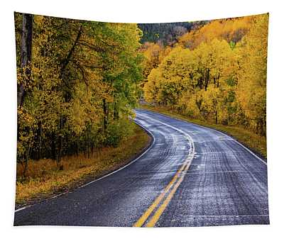 Country Travels Tapestry