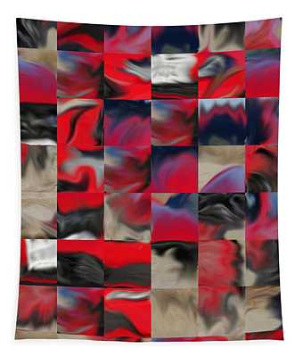 Coupe Rouge Tapestry