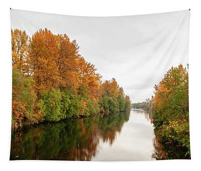 Courtenay River Fall Tapestry