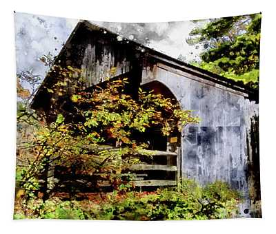 Covered Bridge Tapestry