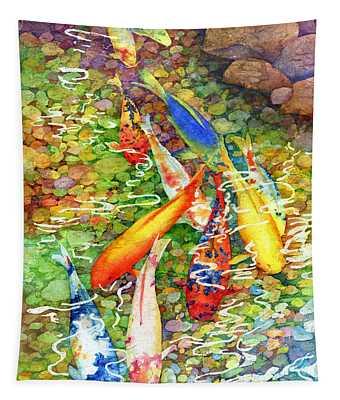 Coy Koi Tapestry