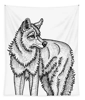 Coyote Tapestry