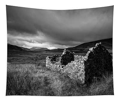 Crofters Cottage Ruin Tapestry