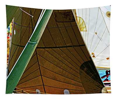 Crossing Sails Tapestry