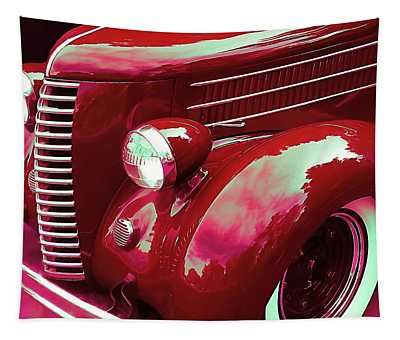 Custom 1936 Ford Nash Grill Tapestry