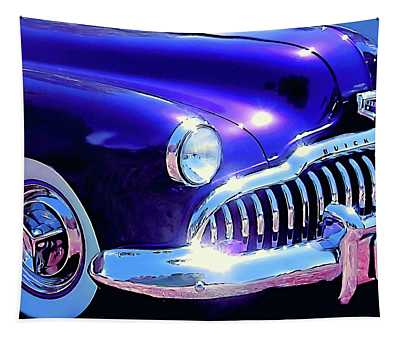Custom 1949 Purple Buick Tapestry