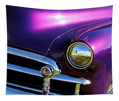 Custom Purple Chevy Tapestry