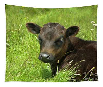 Cute Cow Tapestry