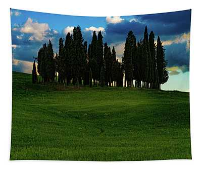 Cypress Trees Tapestry