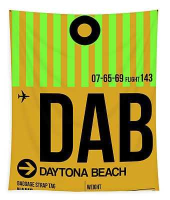 Dab Daytona Beach Luggage Tag I Tapestry