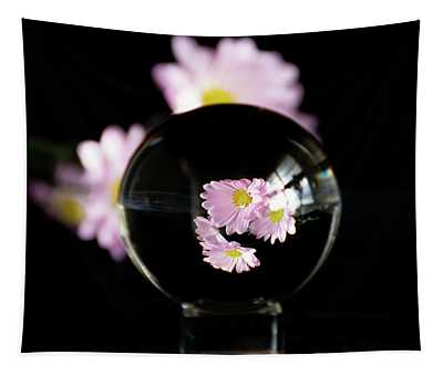 Daisies In Crystal Ball Tapestry