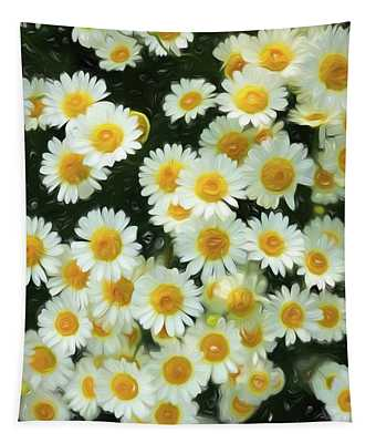 Daisy Crazy For You Tapestry