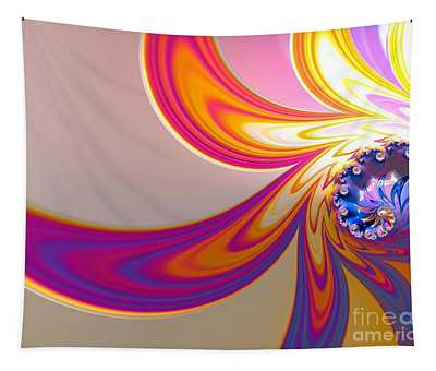Daisy In Color Mode Tapestry