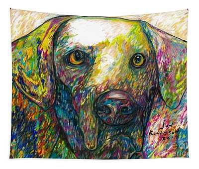 Daisy The Dog Tapestry