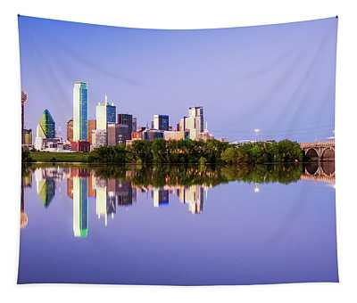 Dallas Texas Houston Street Bridge Tapestry