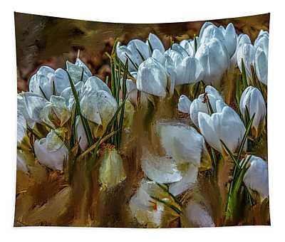 Dance In White #i6 Tapestry