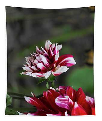 Dancing Dahlia Tapestry