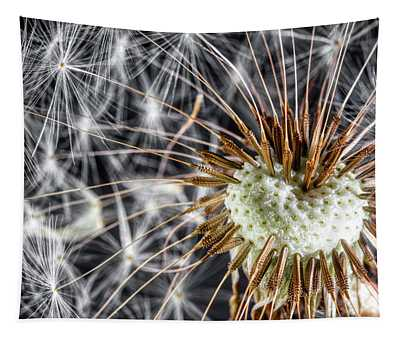 Dandelion Seed Pod Tapestry