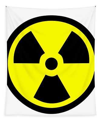 Danger Radiation Sign - Efb256 Tapestry