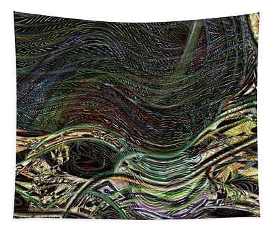Dark Rainbow Tapestry