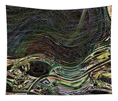 Dark Rainbow Tapestry