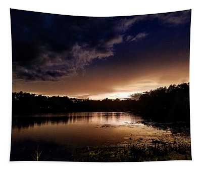 Night Photographs Wall Tapestries