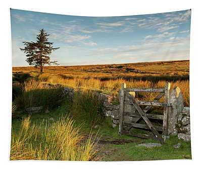 Dartmoor Gate At Sunrise II Tapestry
