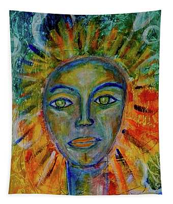 Daughter Of The Sun And Moon Tapestry