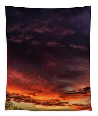 Dawn Of A Winter Morn  Tapestry