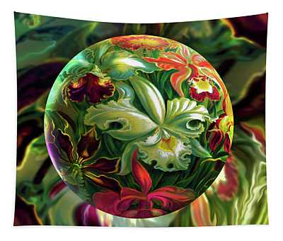 Day Lily Dreams Tapestry