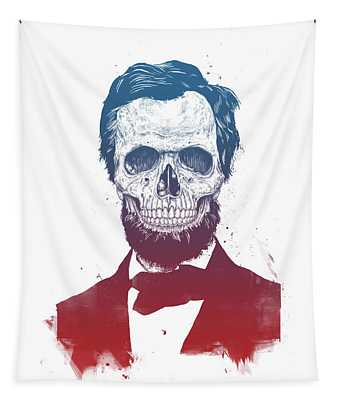 Dead Lincoln Tapestry