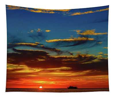 December 17 Sunset Tapestry