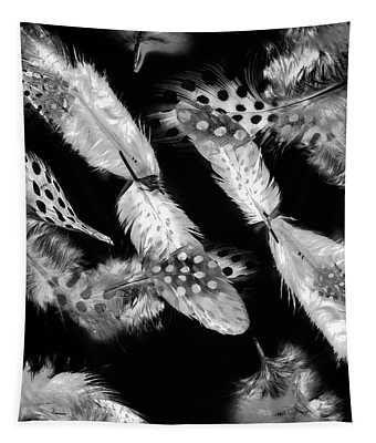 Decorated In Black And White Tapestry