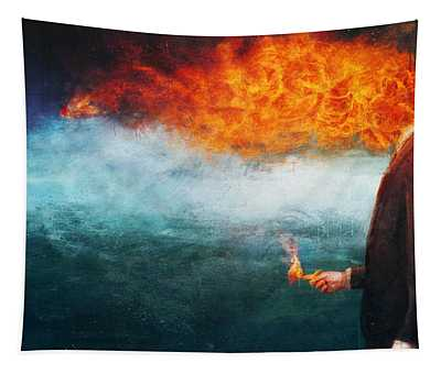 Gassed Paintings Wall Tapestries