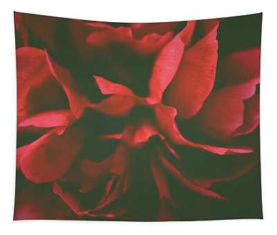 Deep Red Tapestry