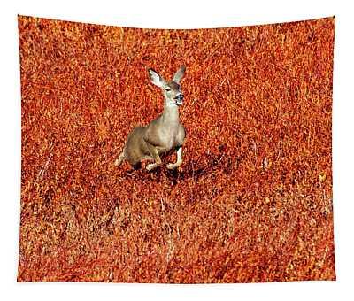 Deer Spint Tapestry