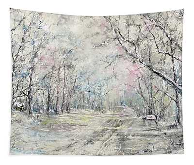 Dees Street Series 7   Winters Serendipity Tapestry