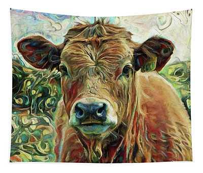 Delilah The Calf Tapestry