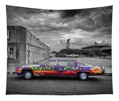 Delta Blues Limo Tapestry